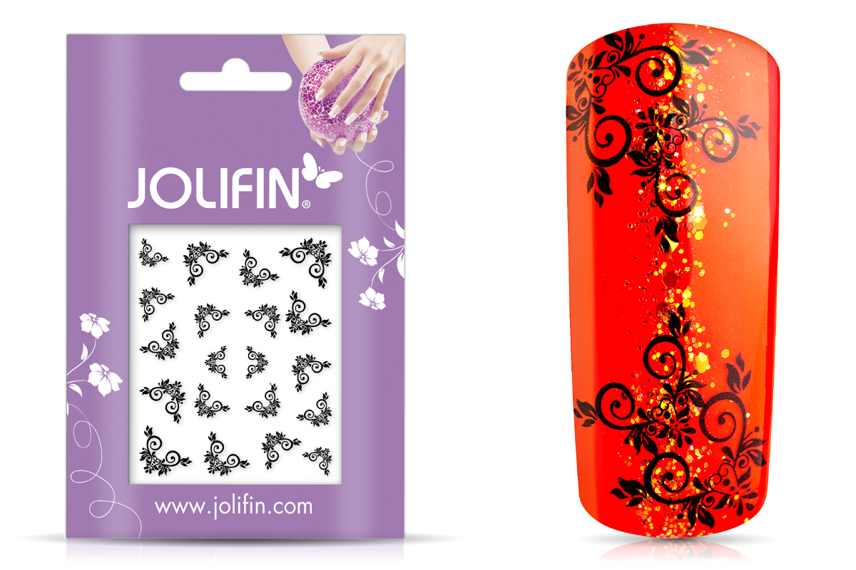 Jolifin Black Elegance Tattoo 6