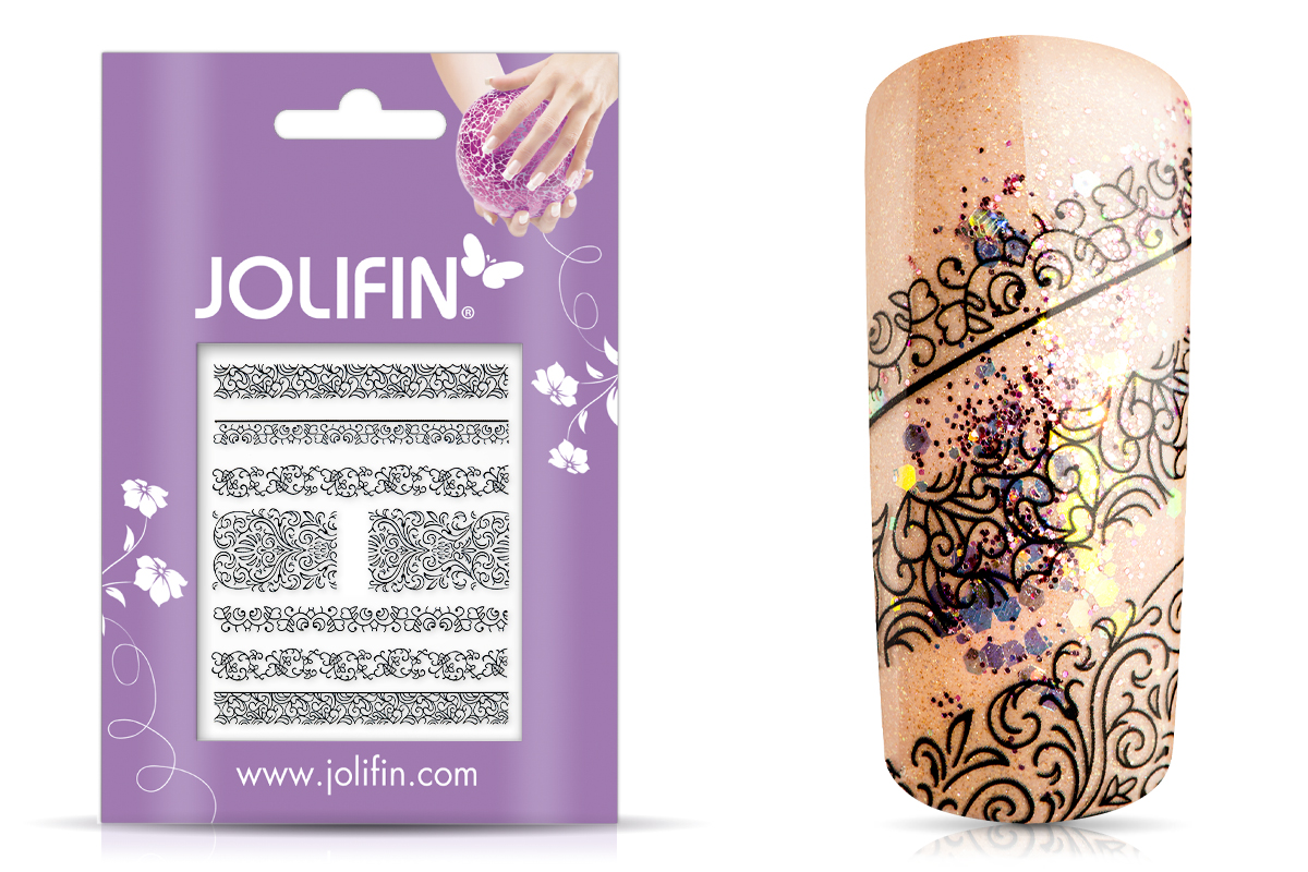 Jolifin Black Elegance Tattoo Nr. 8