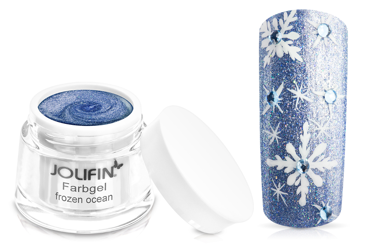 Jolifin Farbgel frozen ocean 5ml