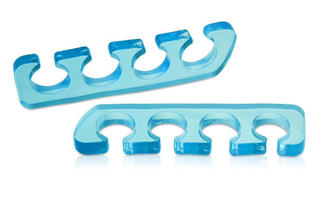 Jolifin Pediküre-Zehenspreizer Mehrweg - blau