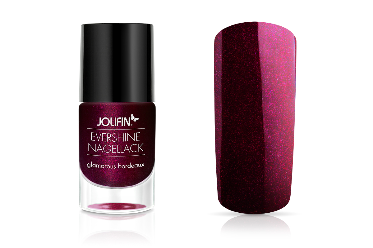Jolifin EverShine Nagellack glamorous bordeaux 9ml