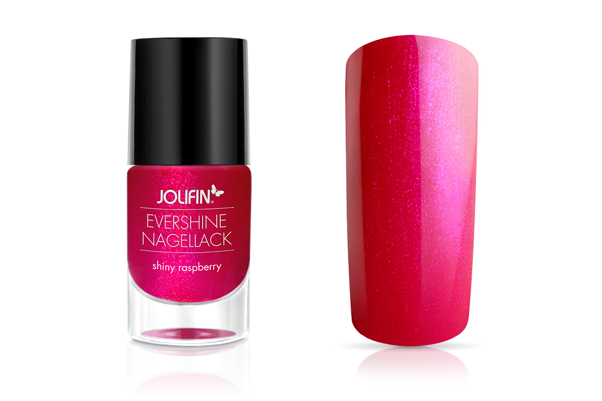 Jolifin EverShine Nagellack shiny raspberry 9ml