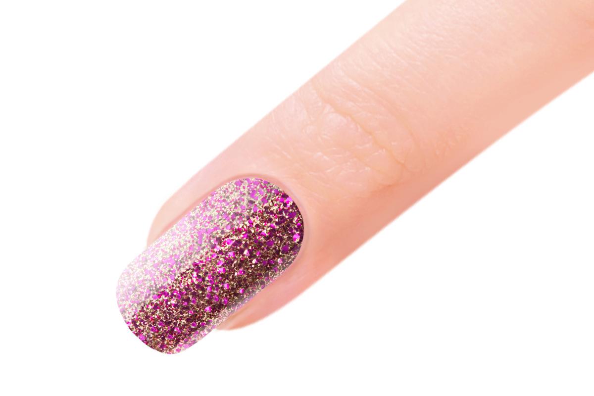 Jolifin EverShine Nagellack Gold-pink Glitter 9ml - Pretty Nail Shop 24