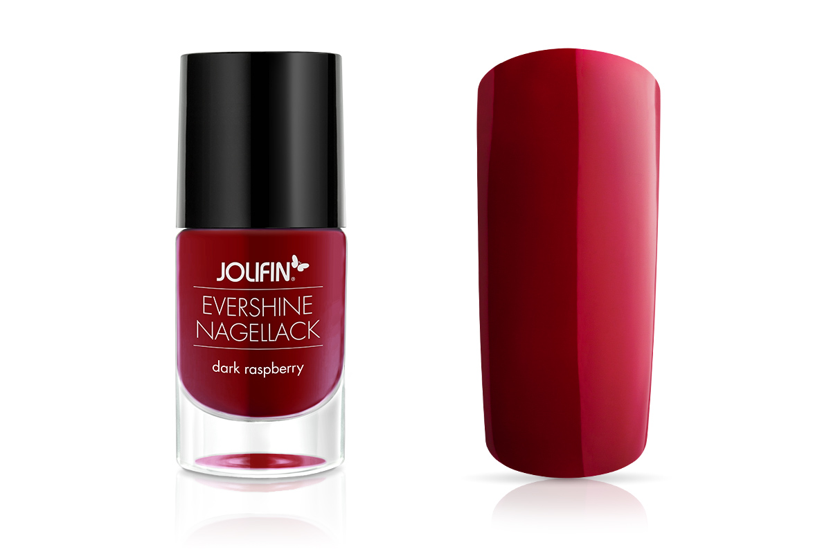 Jolifin EverShine Nagellack dark raspberry 9ml