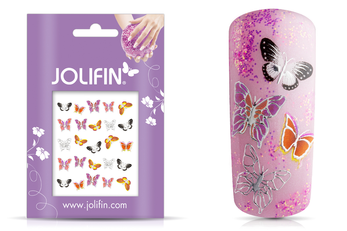 Jolifin Silver Glam Sticker 14