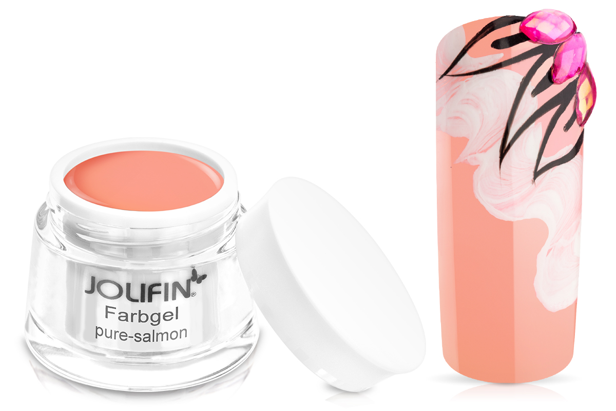 Jolifin Farbgel pure-salmon 5ml