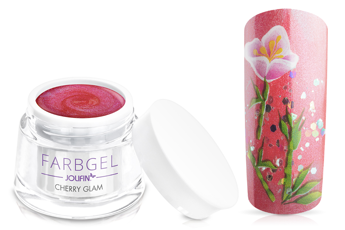 Jolifin Farbgel cherry glam 5ml