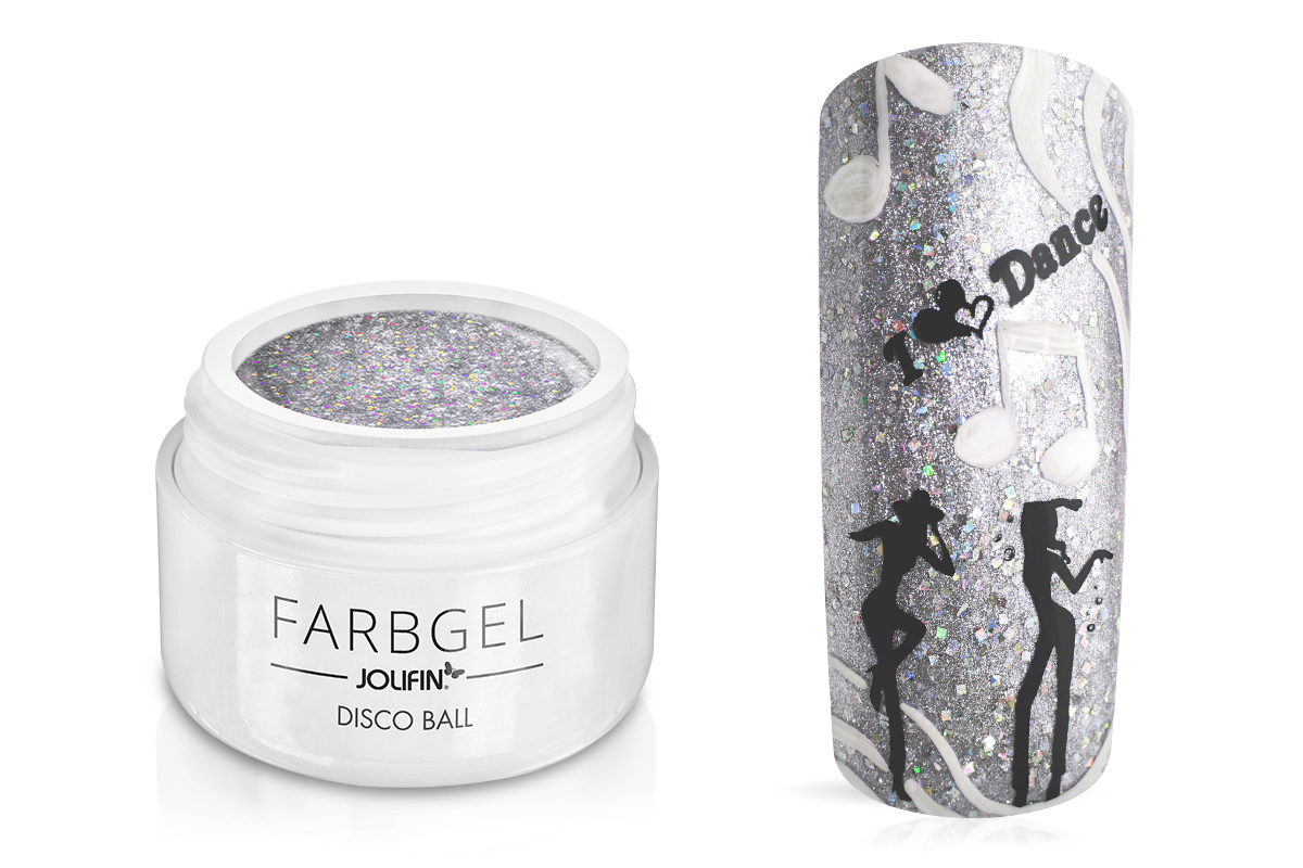 Jolifin Farbgel disco ball 5ml