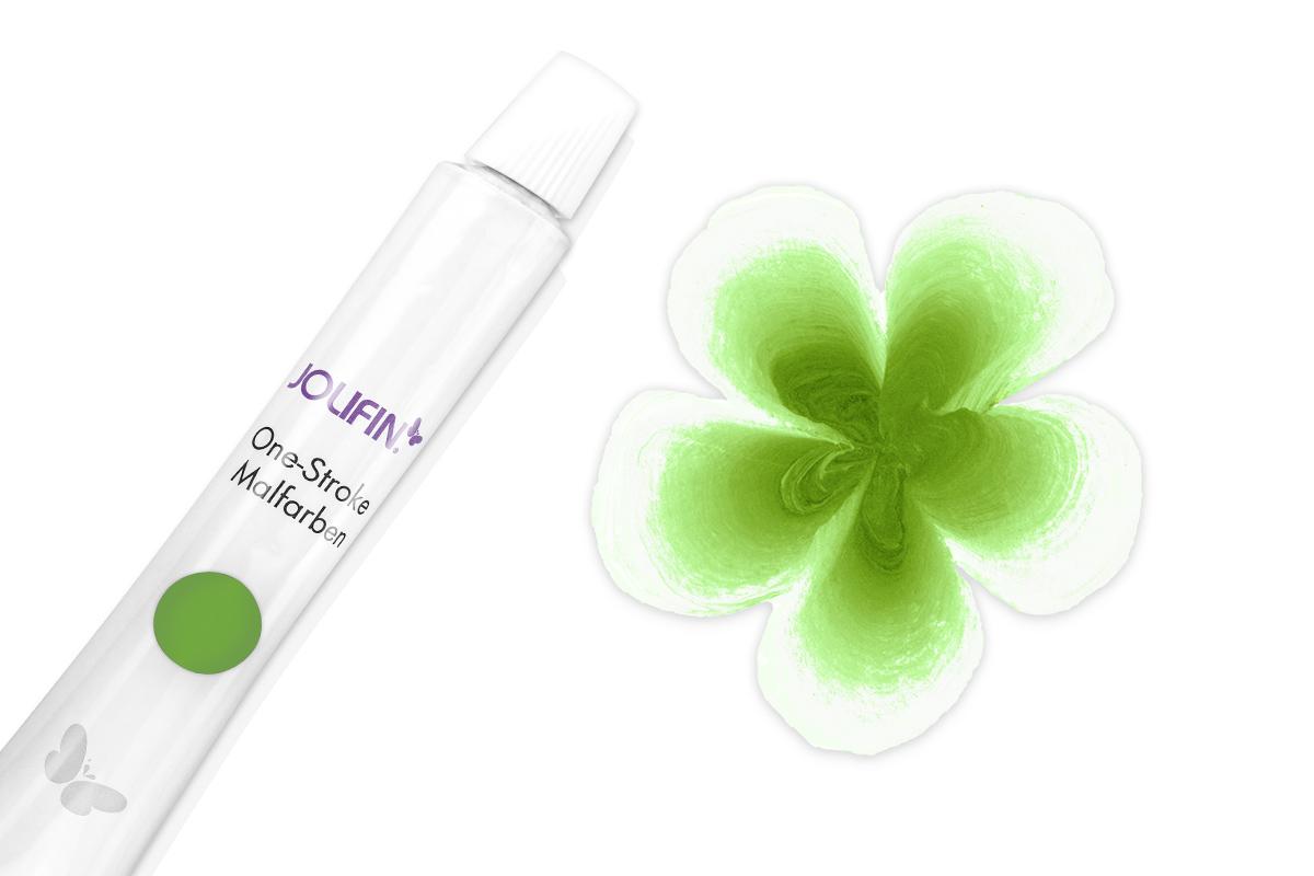 Jolifin One-Stroke Malfarbe grassgrün 10ml