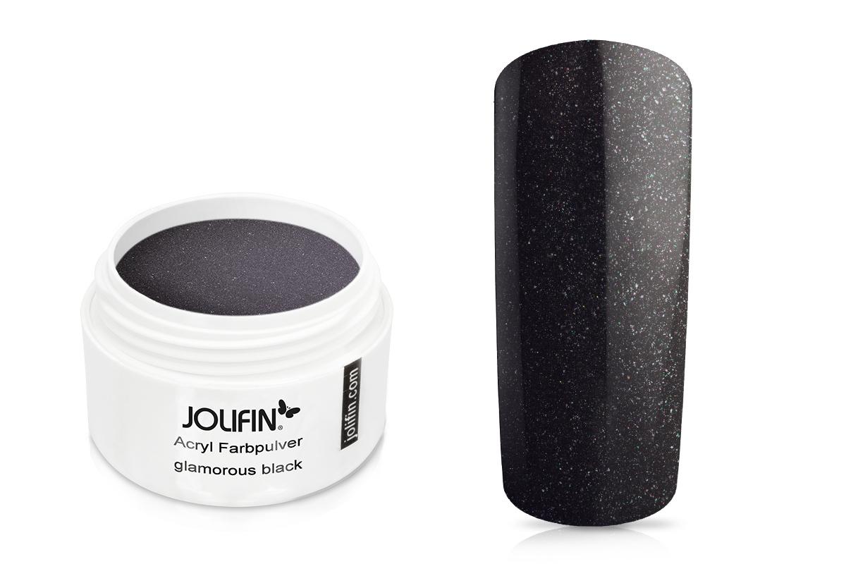 Jolifin Acryl Farbpulver glamorous black 5g