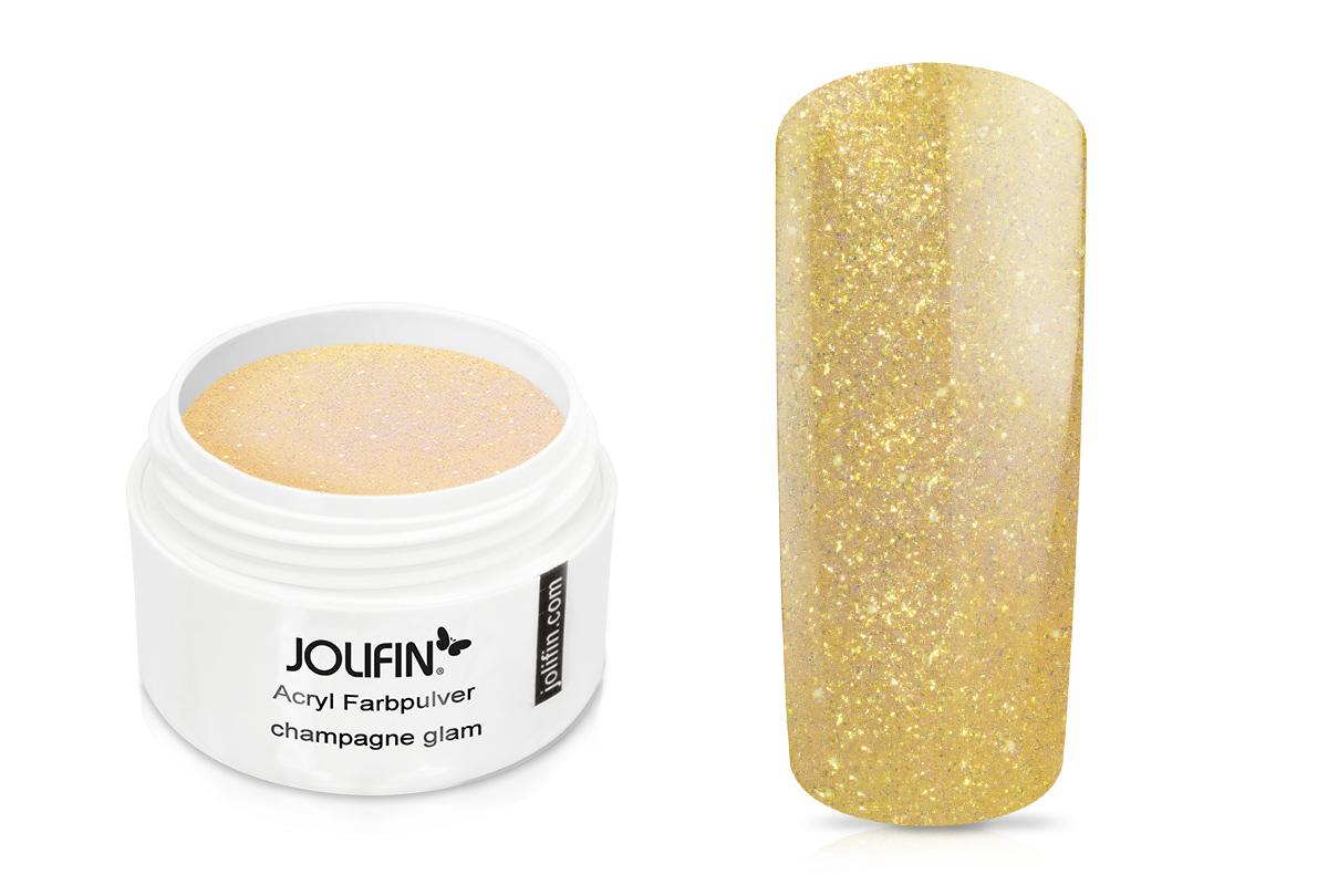 Jolifin Acryl Farbpulver - champagne glam 5g