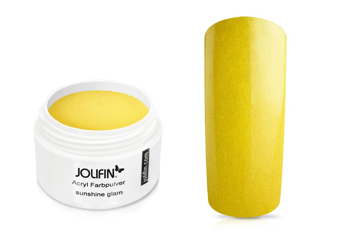 Jolifin Acryl Farbpulver sunshine glam 5g