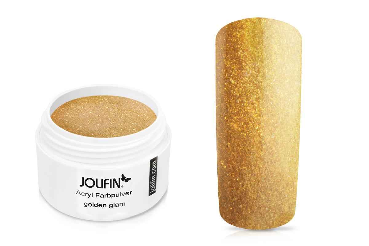 Jolifin Acryl Farbpulver golden glam 5g