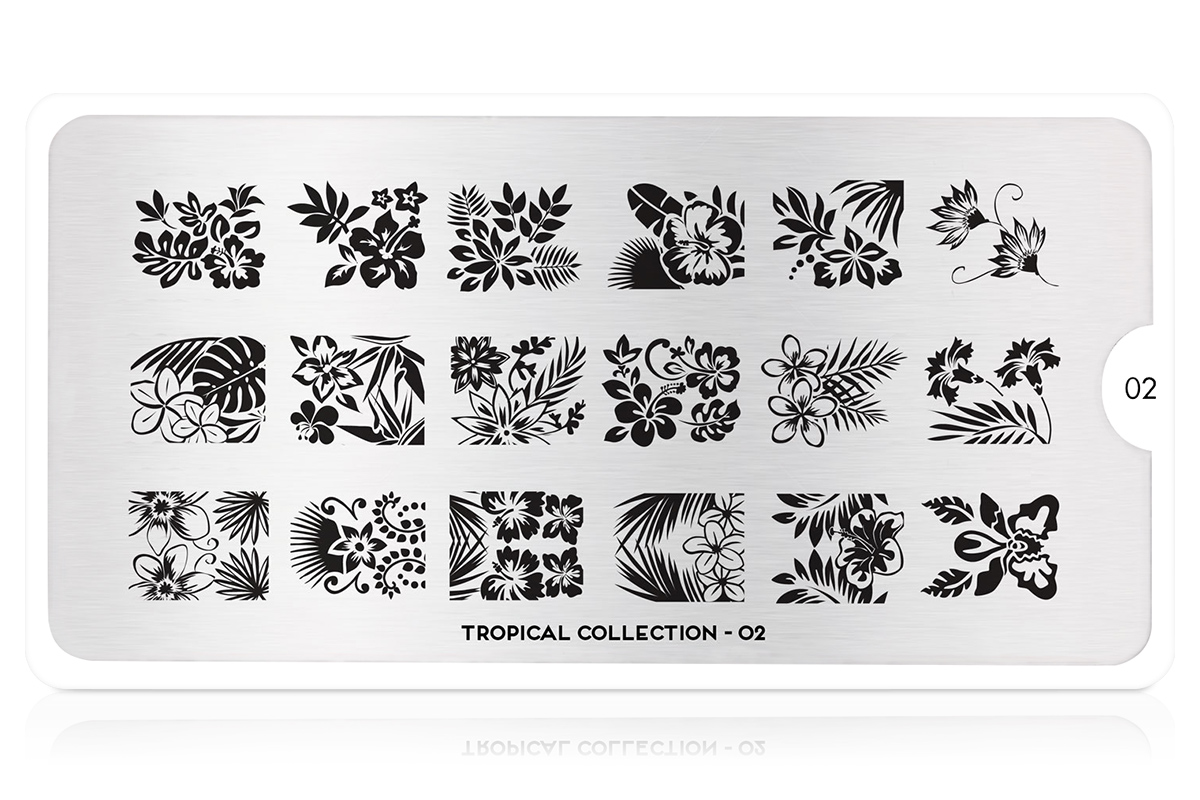 MoYou-London Schablone Tropical Collection 02