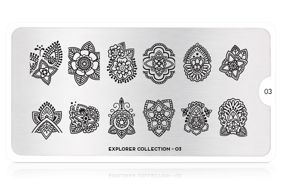 MoYou-London Schablone Explorer Collection 03