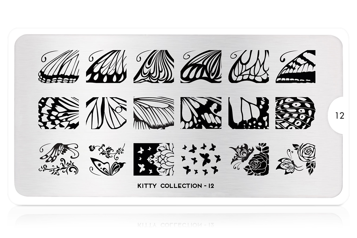 MoYou-London Schablone Kitty Collection 12