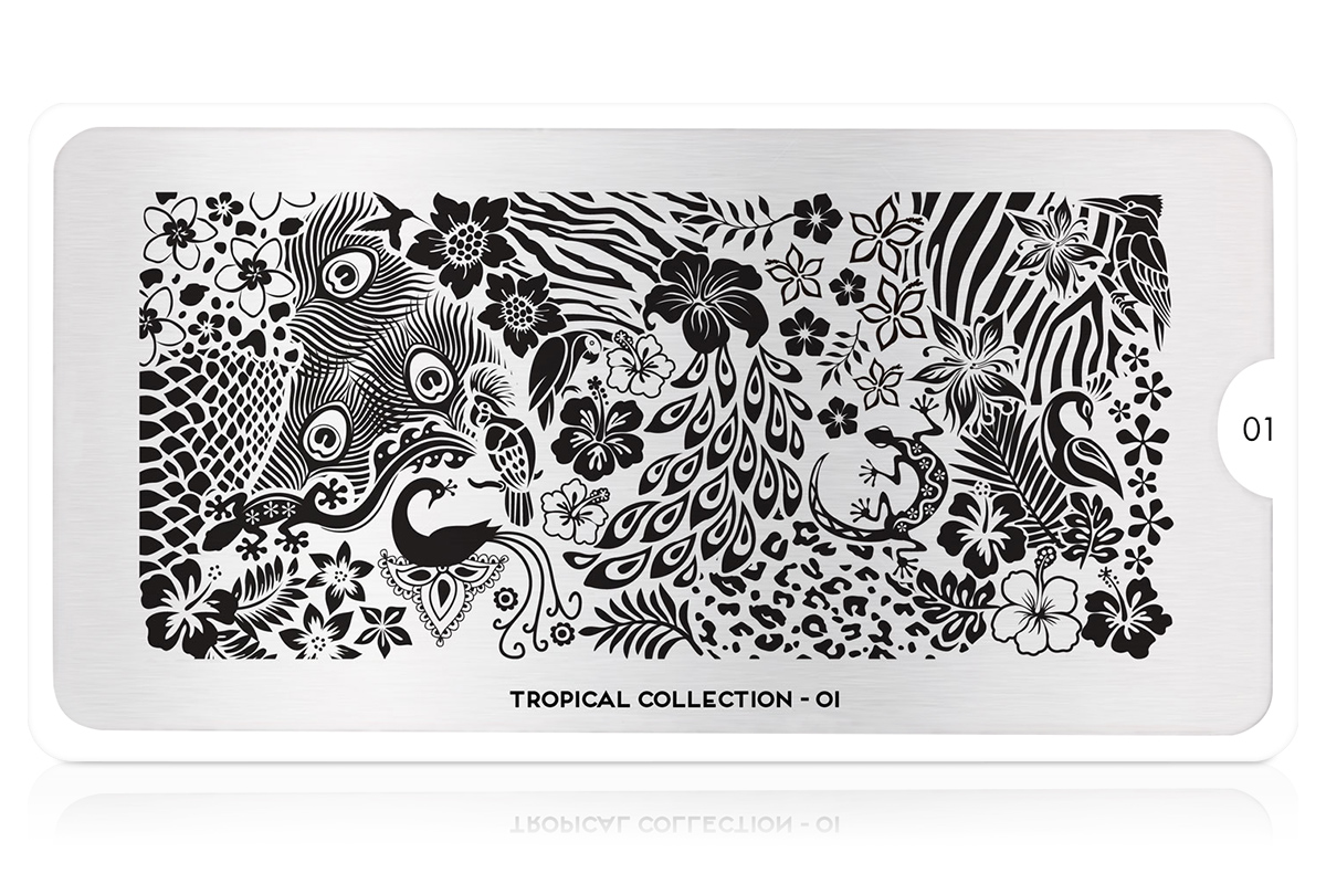 MoYou-London Schablone Tropical Collection 01