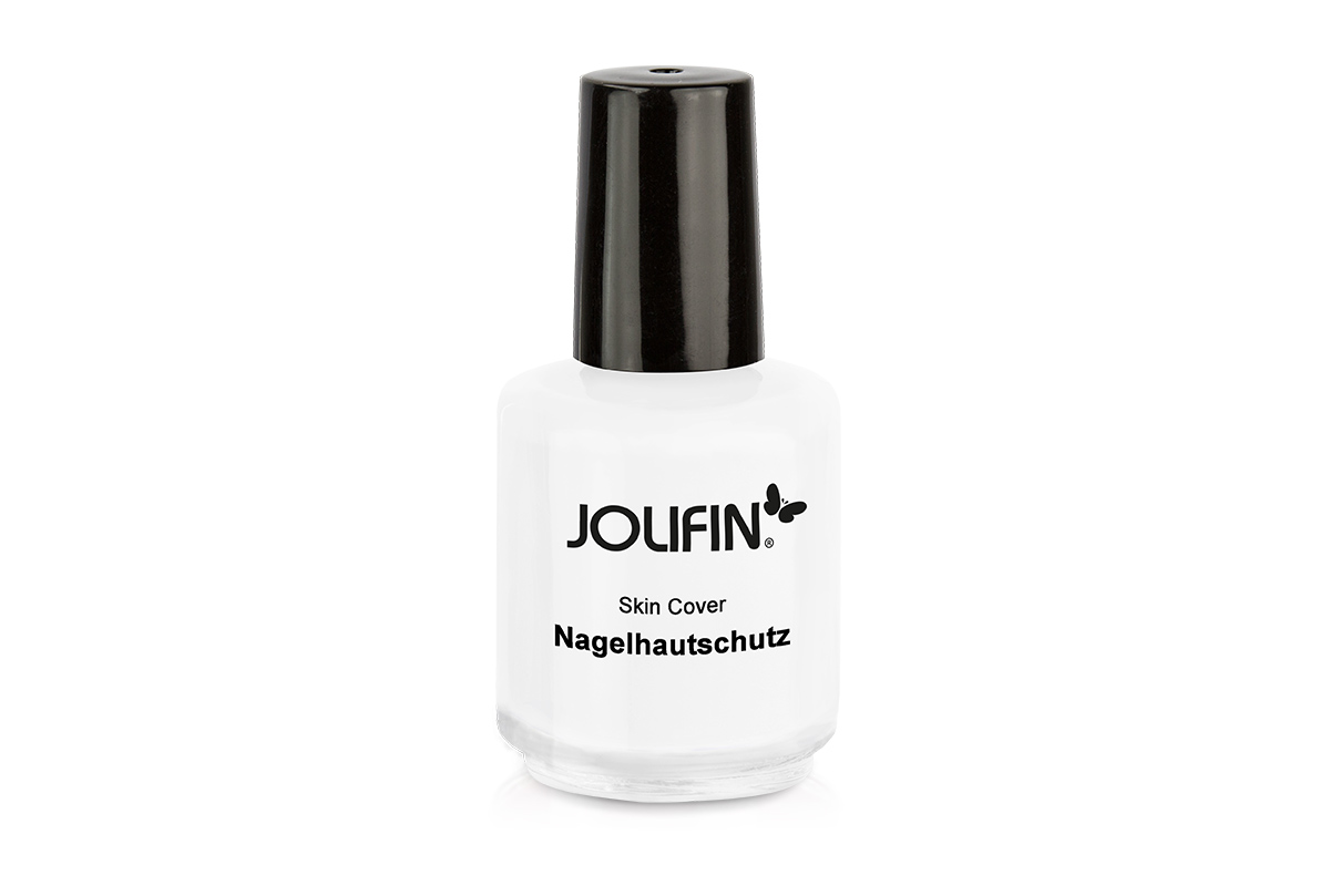 Jolifin Skin Cover - Nagelhautschutz weiß 14ml