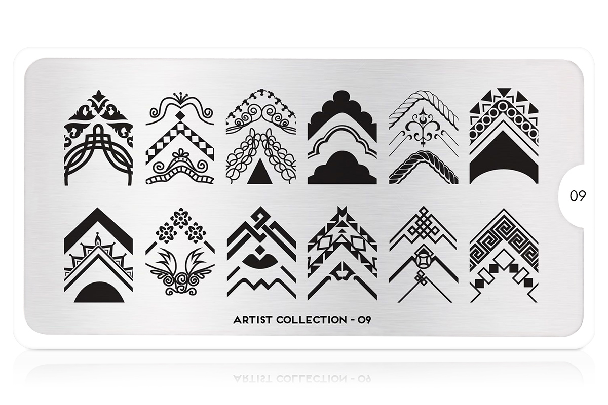 MoYou-London Schablone Artist Collection 09