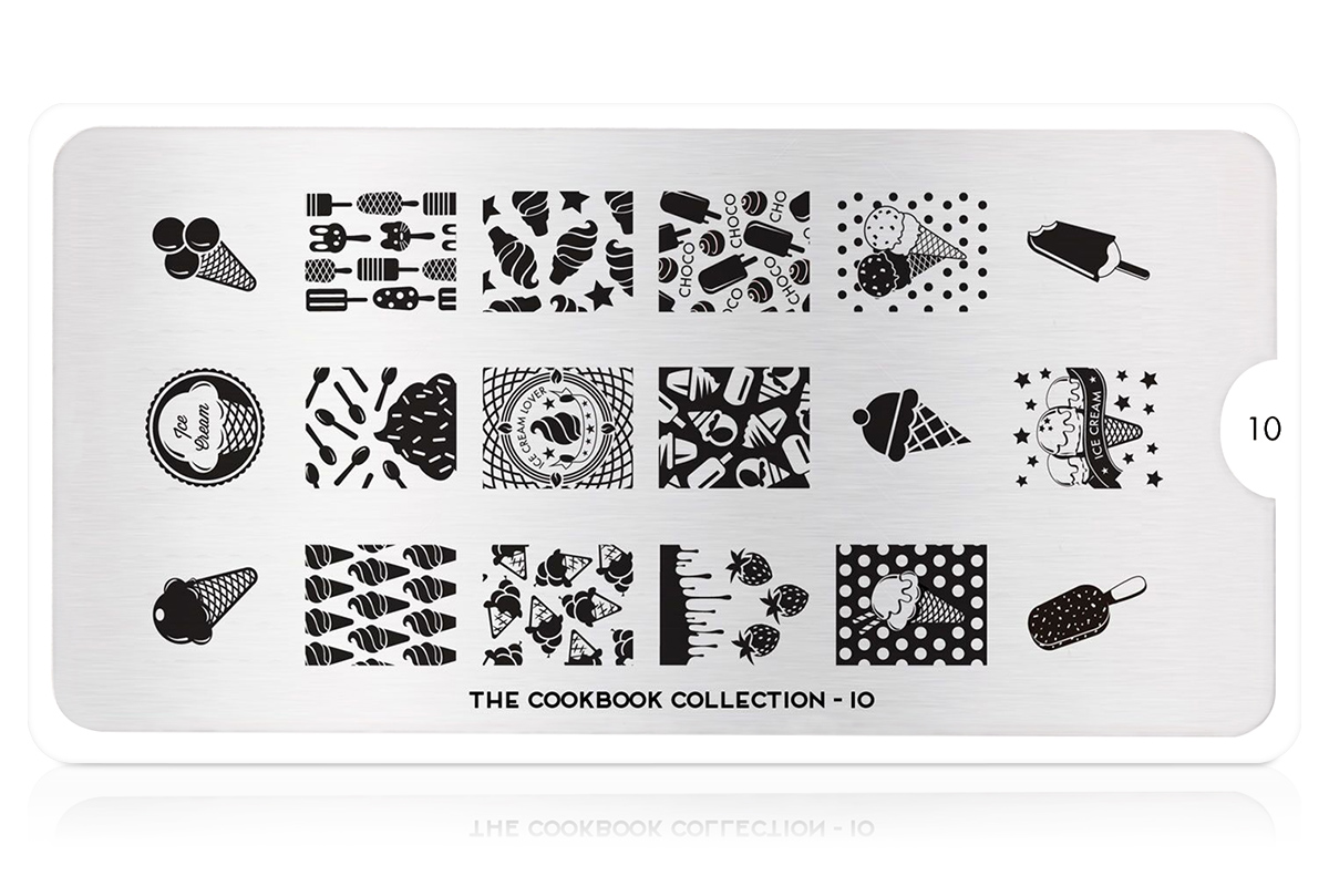 MoYou-London Schablone Cook Book Collection 10