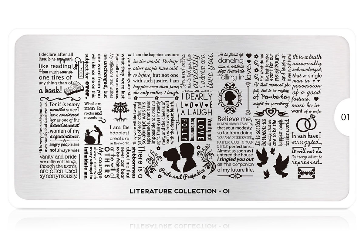 MoYou-London Schablone Literature Collection 01