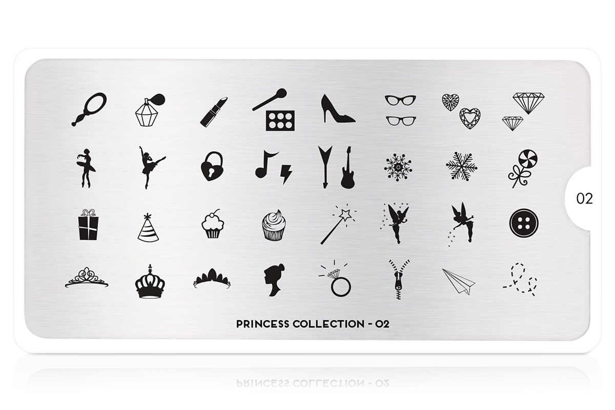 MoYou-London Schablone Princess Collection 02
