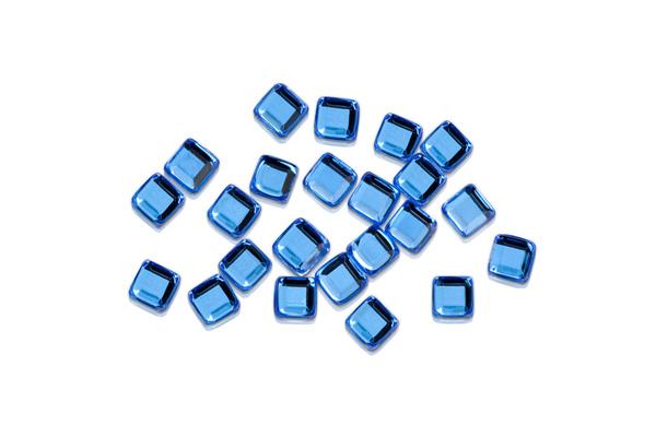 Jolifin Strasssteine Quadrat strong blue