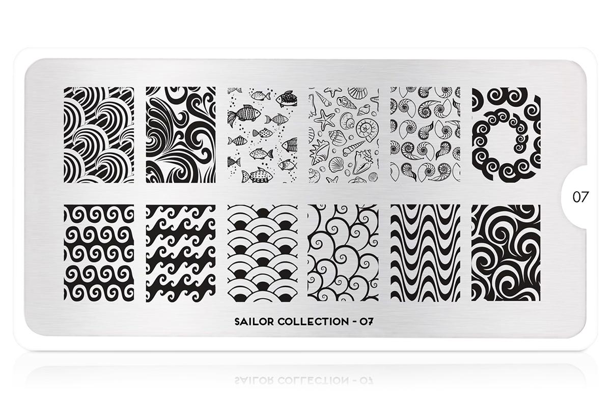 MoYou-London Schablone Sailor Collection 07