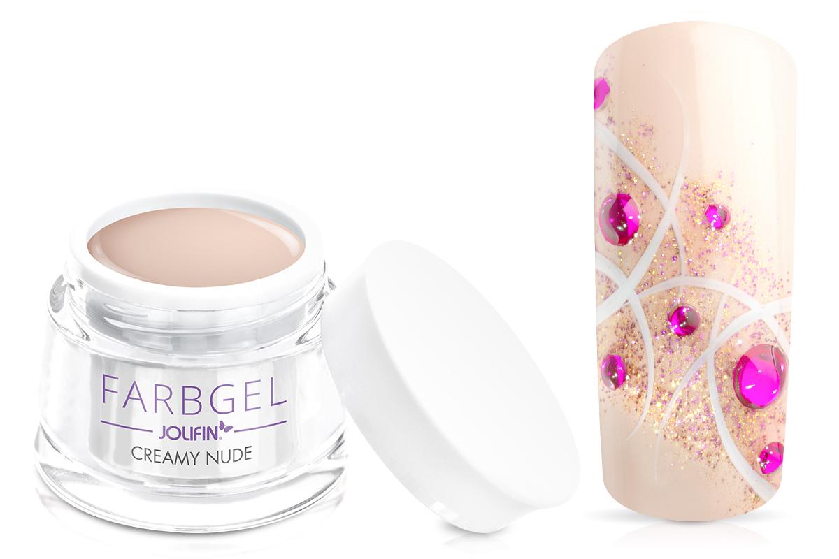 Jolifin Farbgel creamy nude 5ml
