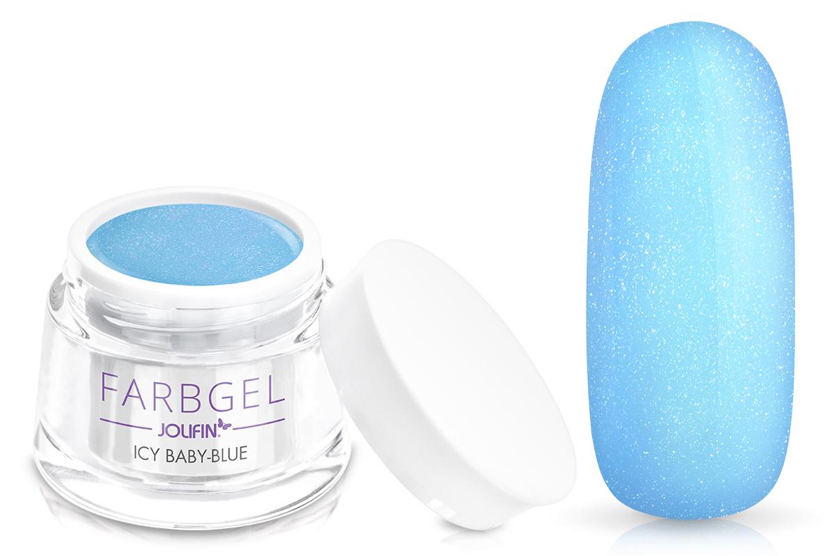 Jolifin Farbgel icy baby-blue 5ml