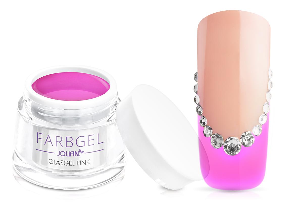 Jolifin Glasgel pink 5ml