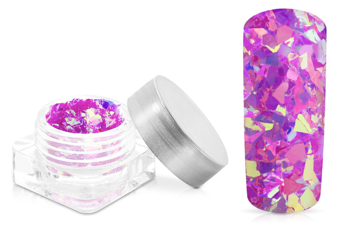 Jolifin Nail-Art Glitter Flakes Violett