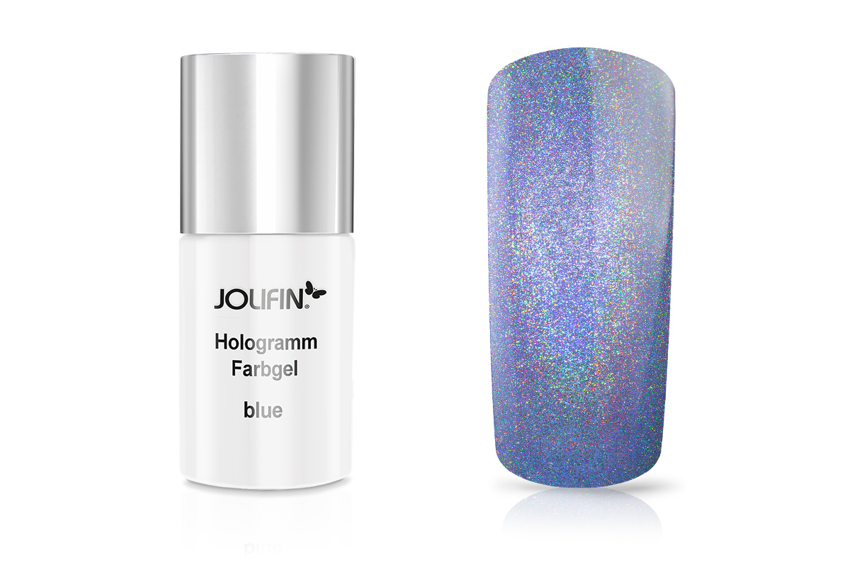 Jolifin Hologramm Quick-Farbgel blue 11ml