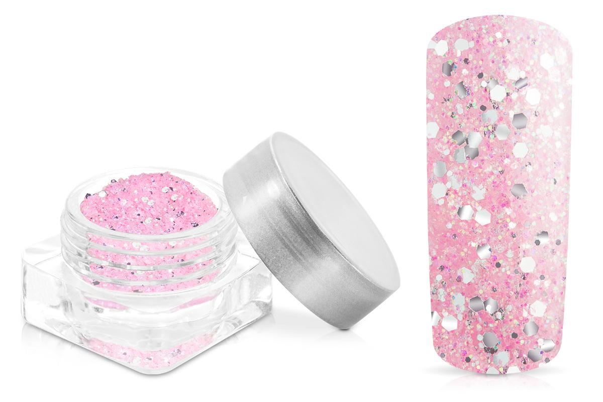 Jolifin Illusion Glitter VI pastell-candypink