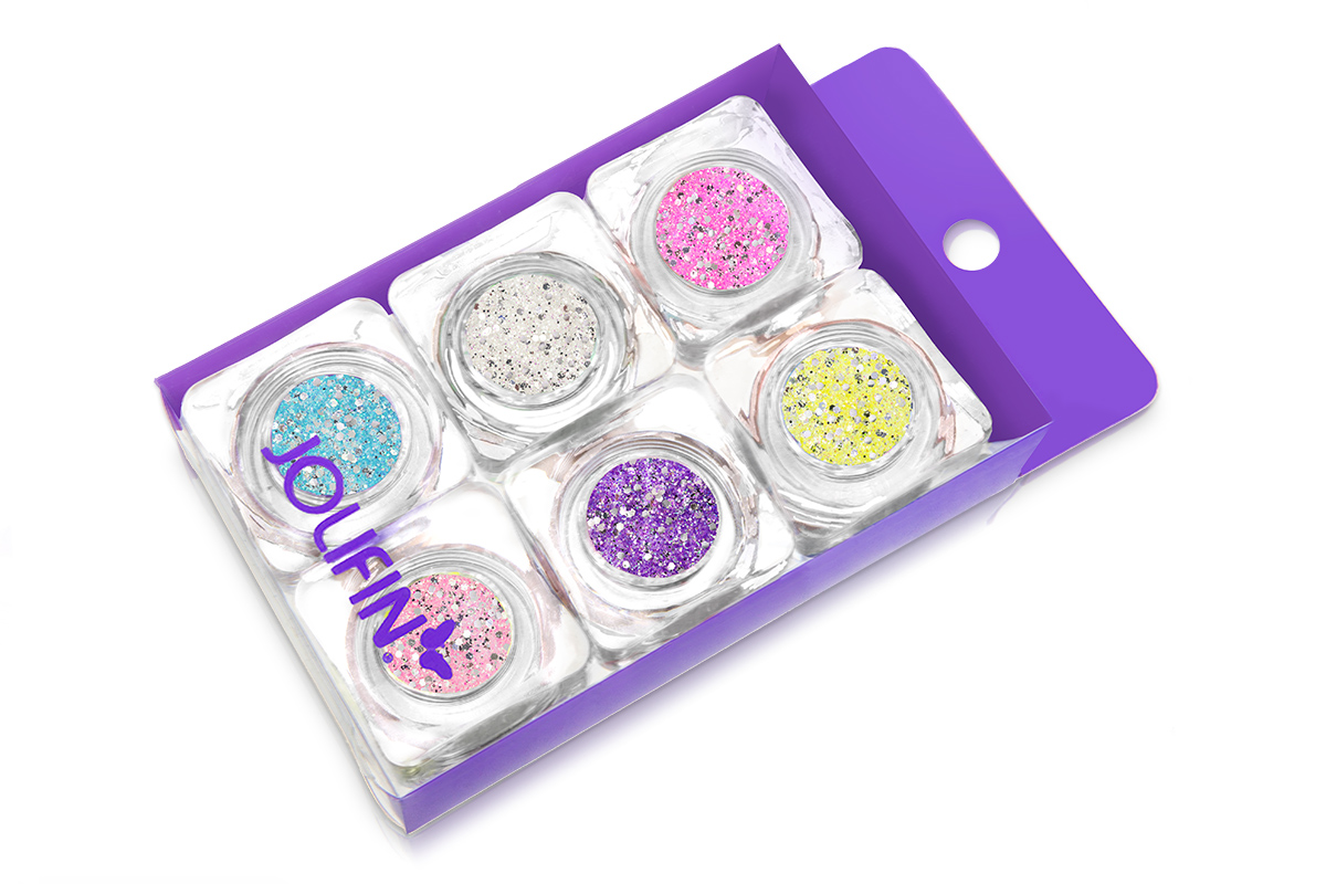 Jolifin Illusion Glitter VI Set