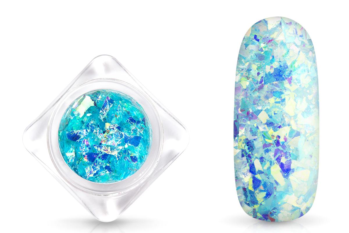 Jolifin Nail-Art Glitter Flakes Eisblau