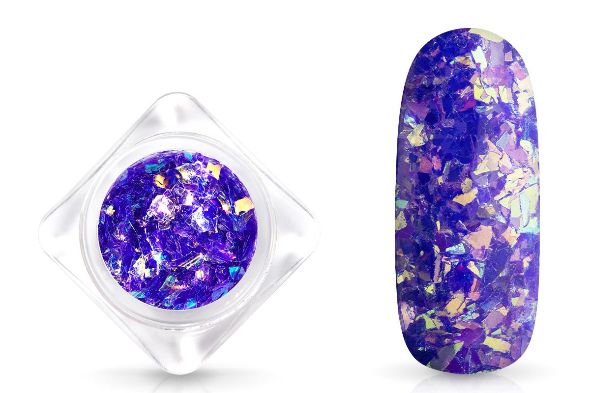 Jolifin Nail-Art Glitter Flakes Blau-Violett