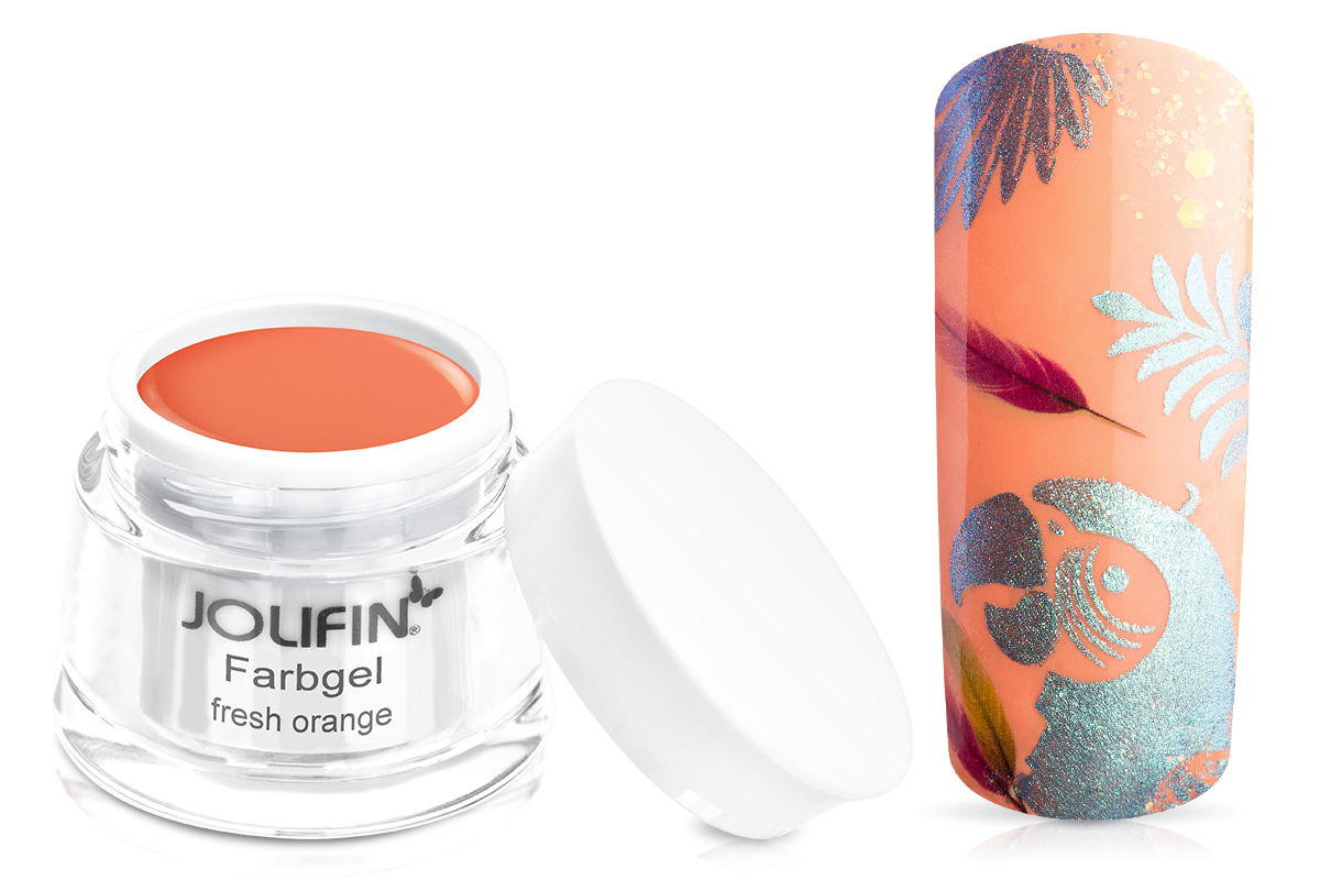Jolifin Farbgel fresh orange 5ml
