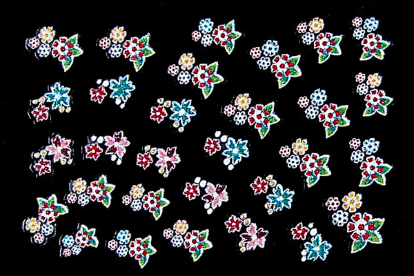 3D-Sticker Flowers
