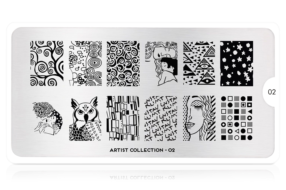 MoYou-London Schablone Artist Collection 02