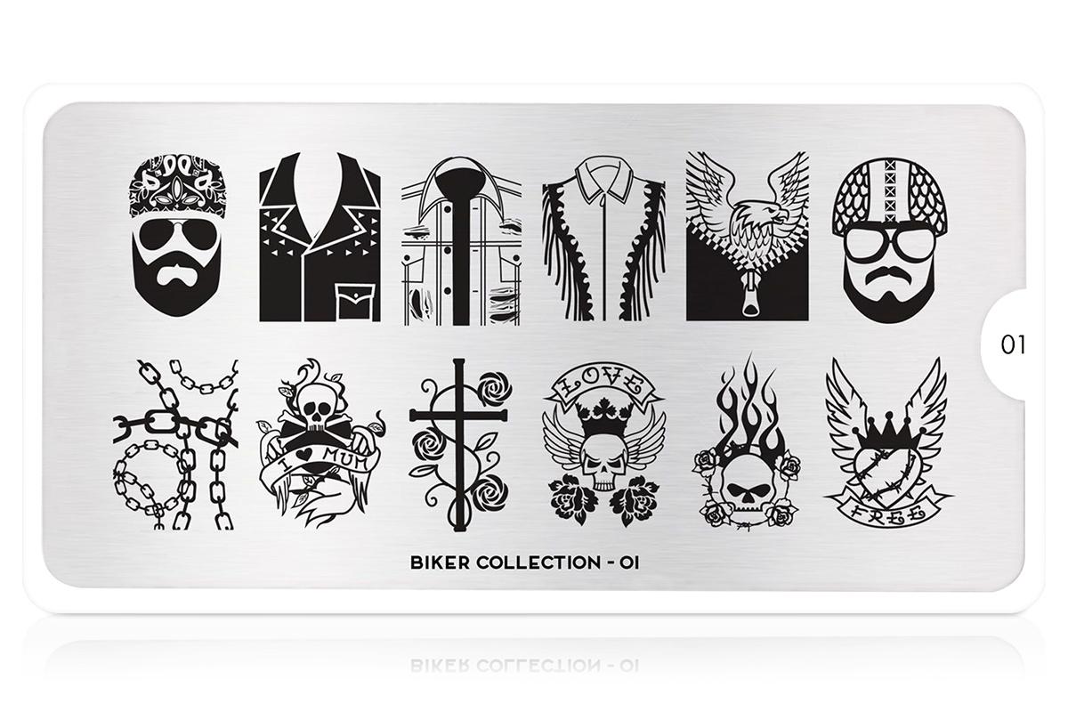 MoYou-London Schablone Biker Collection 01