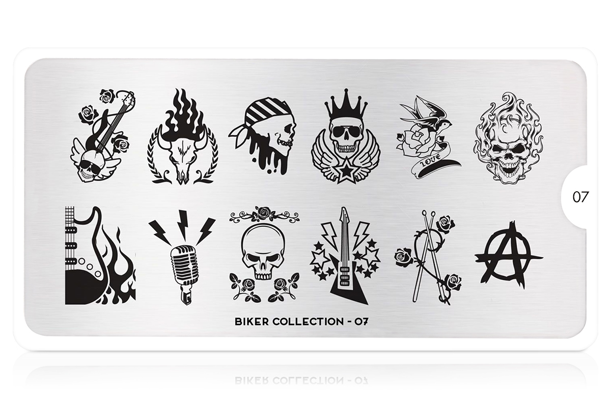 MoYou-London Schablone Biker Collection 07