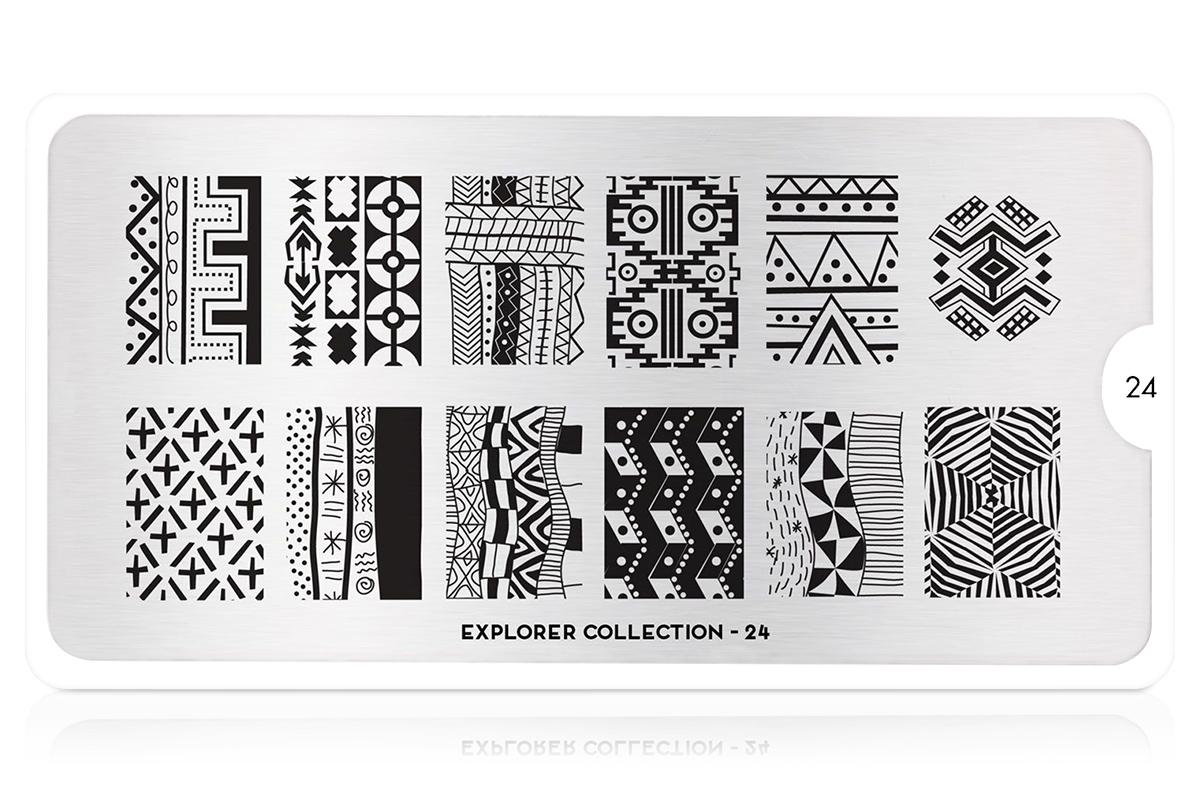 MoYou-London Schablone Explorer Collection 24
