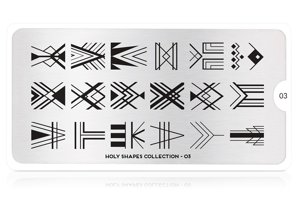 MoYou-London Schablone Holy Shapes Collection 03
