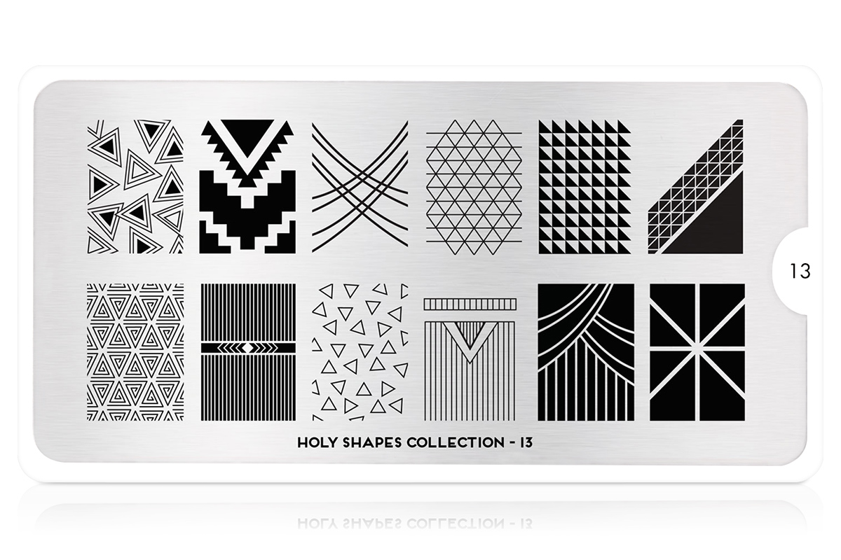 MoYou-London Schablone Holy Shapes Collection 13