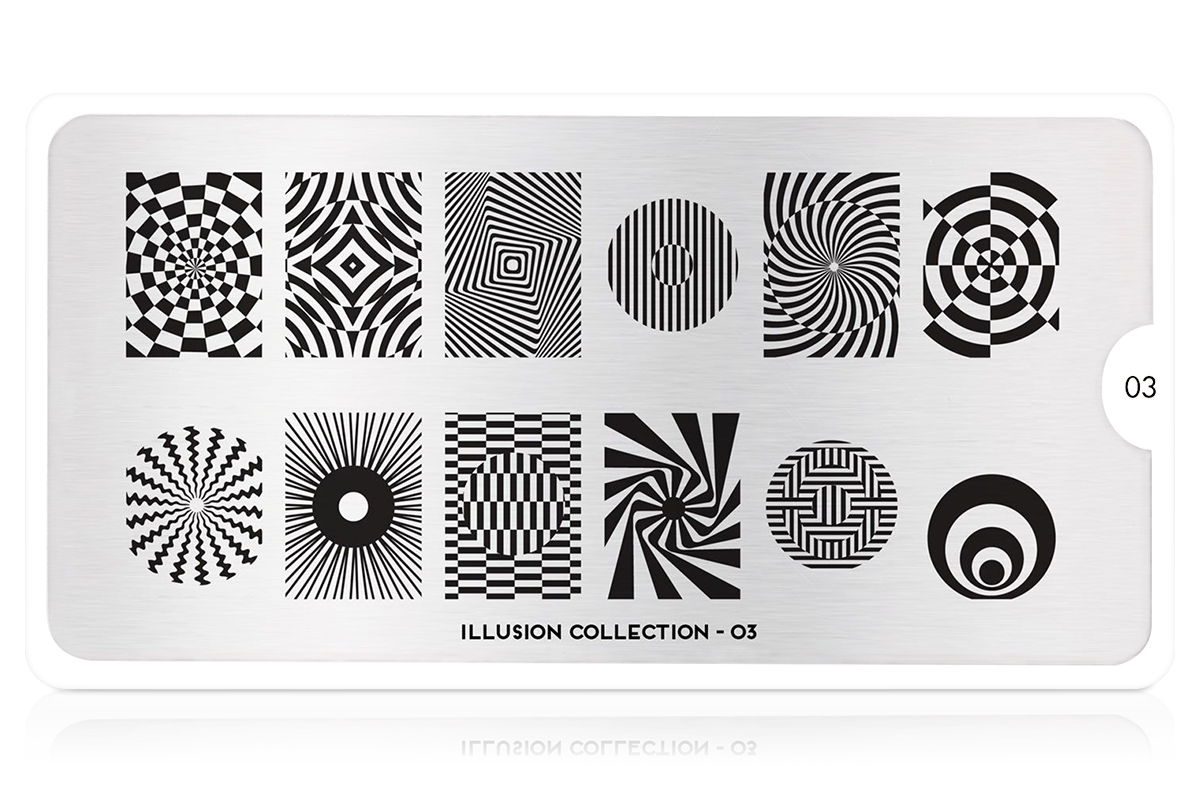 MoYou-London Schablone Illusion Collection 03