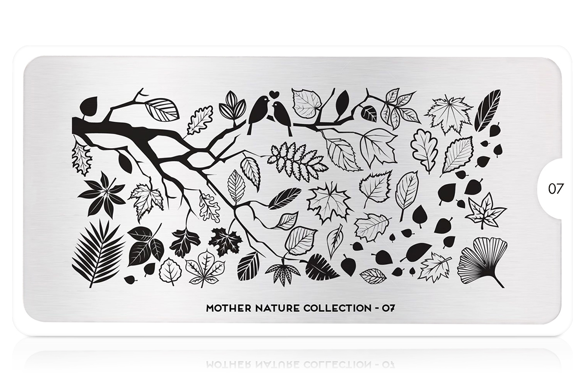 MoYou-London Schablone Mother Nature Collection 07