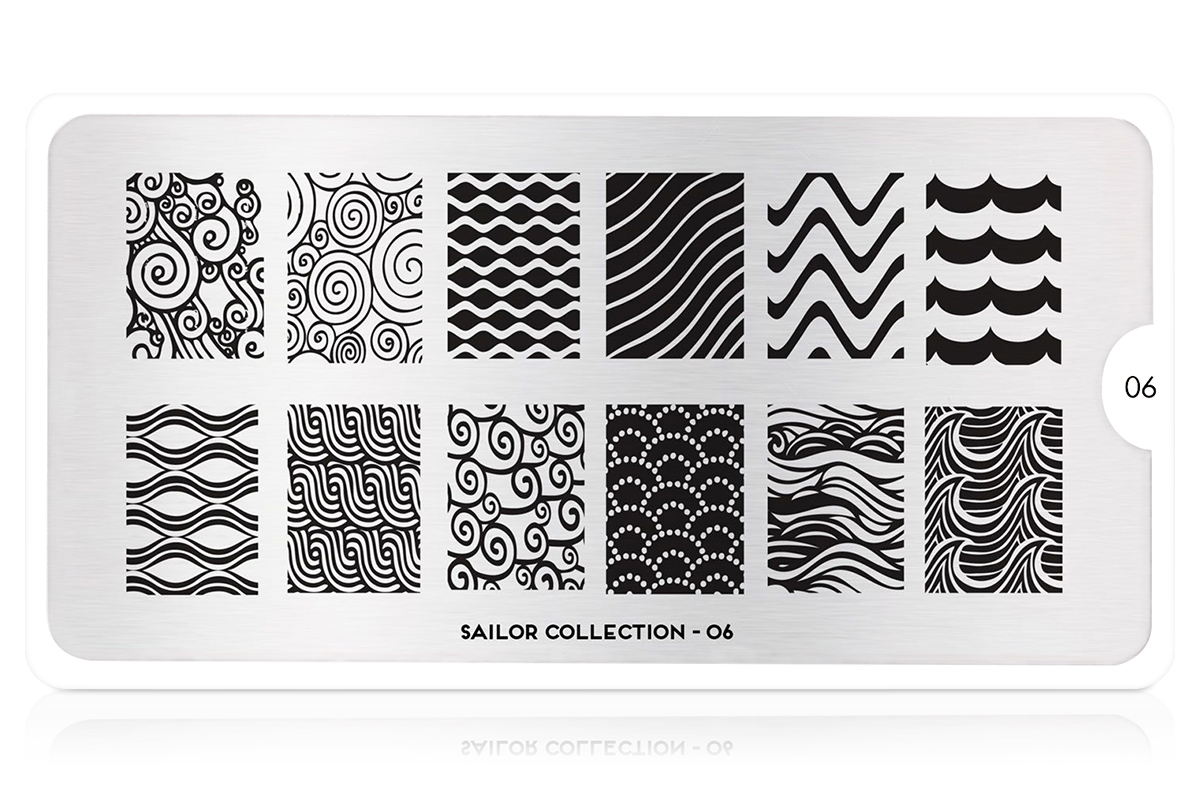MoYou-London Schablone Sailor Collection 06