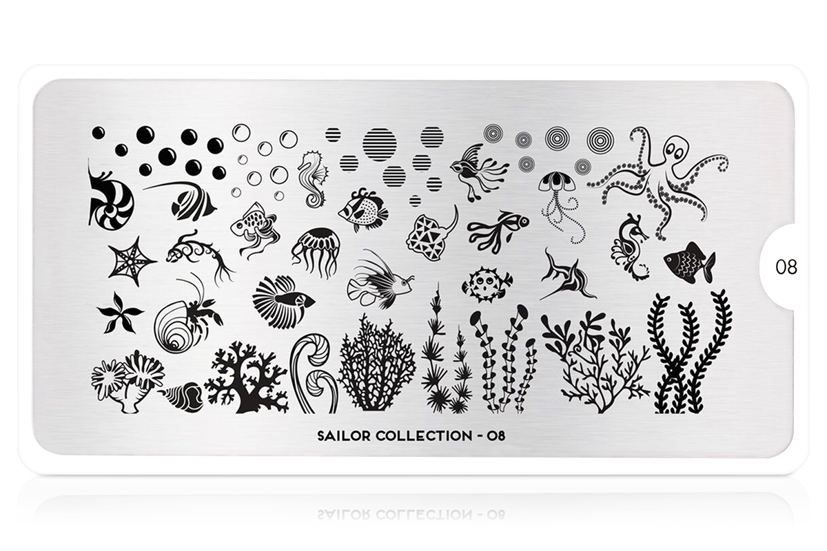 MoYou-London Schablone Sailor Collection 08