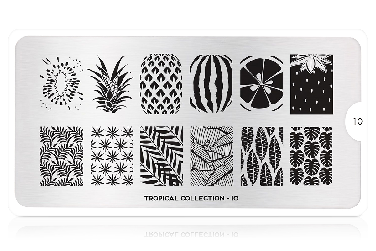 MoYou-London Schablone Tropical Collection 10